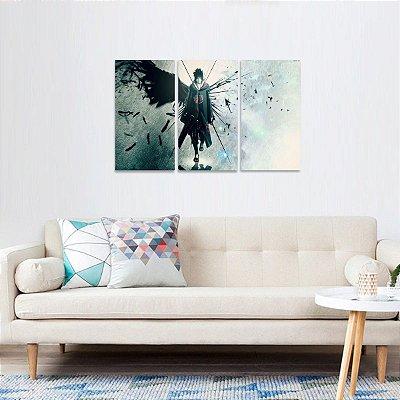 Quadro de Naturo Shippuden Uchiha Sasuke