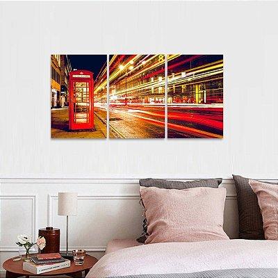 Quadro Londres Telefone Luzes Arte decorativo