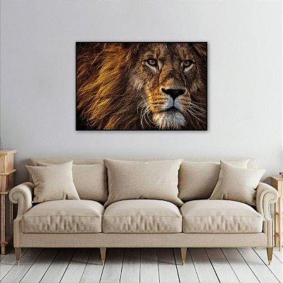 Quadro decorativo O Leão de Judá Elegância
