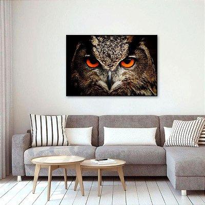 Quadro decorativo O Olhar da Coruja