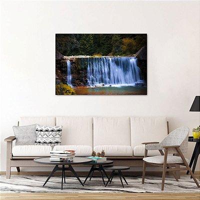 Quadro decorativo Natureza Cachoeira Lago Paisagem
