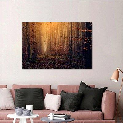Quadro Floresta Natureza Árvores decorativo