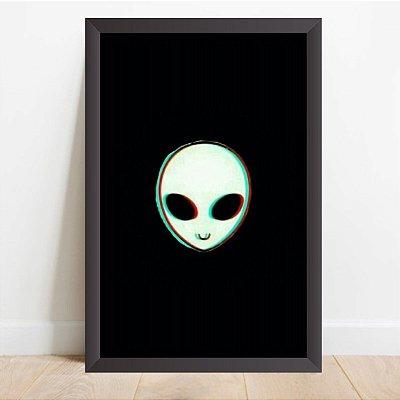Quadro Decorativo Et Os Alienígenas