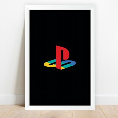 Quadro decorativo Playstation Video Games