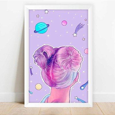 Quadro decorativo Universo Das Meninas