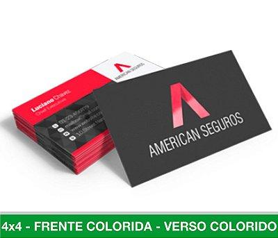 Cartão de Visita 1.500 Unid - Frente e Verso Coloridos