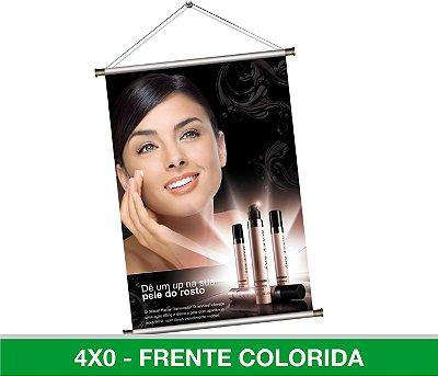 Banner Digita 90x60cml - Lona 440g - Com Madeirinha ou Ilhós