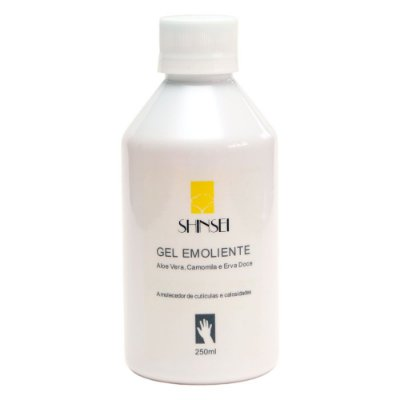Gel Emoliente para Cutículas e Calosidades Shinsei - 250ml