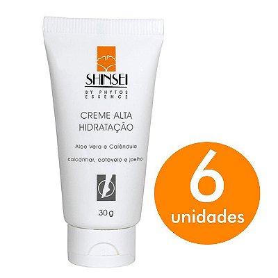 Kit Creme Alta Hidratação Shinsei 30g - 6 Unid