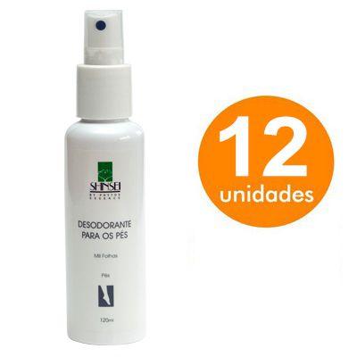 Kit Desodorante para os Pés Shinsei 120ml - 12 Unidades