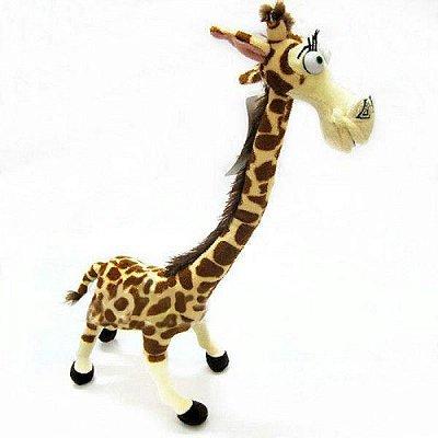 Pelúcia Melman Girafa do Madascar 30cm