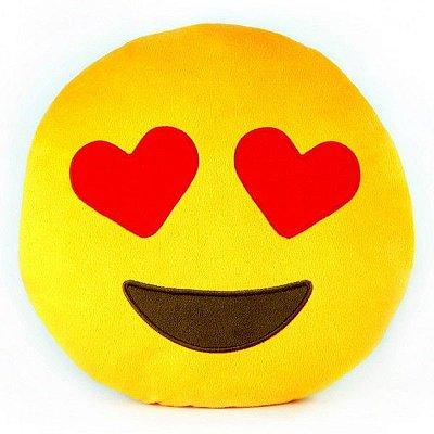 Pelúcia Emoji Apaixonado 32cm Whatsapp