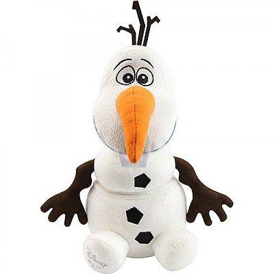 Pelúcia personagem Olaf Frozen 30cm