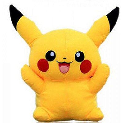 Pelúcia Personagem Pokemon Pikachu 33cm