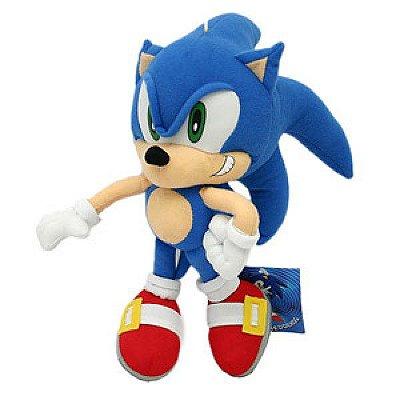 Pelúcia personagem Sonic 19cm