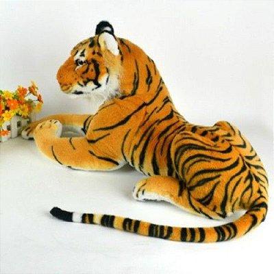Pelúcia Animal Tigre Real 30cm