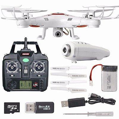 Drone Syma X5c Com Camera Hd, 6 Axis, 2,4ghz