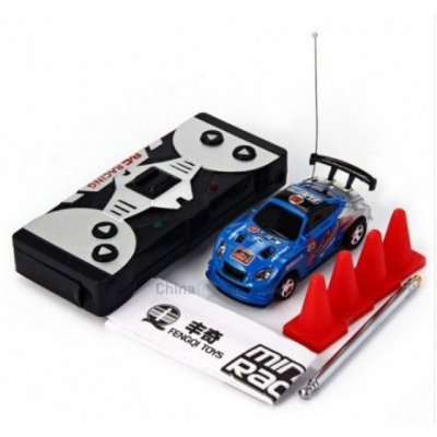 Mini Carro de Controle Remoto 2 Canais