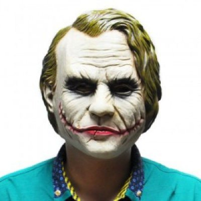 Máscara Coringa Realista  - Batman