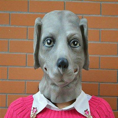 Máscara Realista Cabeça de Cachorro