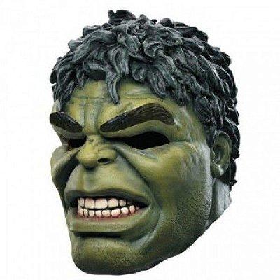Máscara de Latex - Personagem Hulk