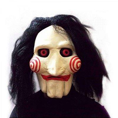 Máscara JigSaw Jogos Mortais personagem