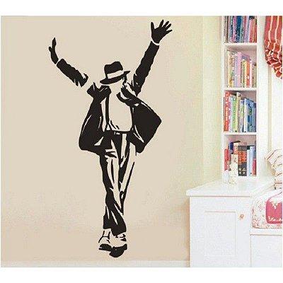 Adesivo De Parede Michael Jackson 60x90cm