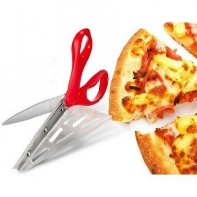 Tesoura Cortador de Pedaço de Pizza