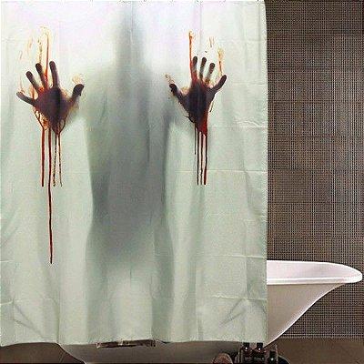 Cortina para Banheiro Terror Scream