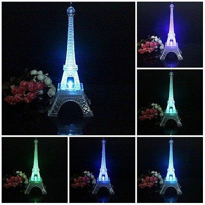 Luminária Monumento Torre Eiffel 25cm