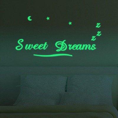 Adesivo de Parede Sweet Dreams 78cm