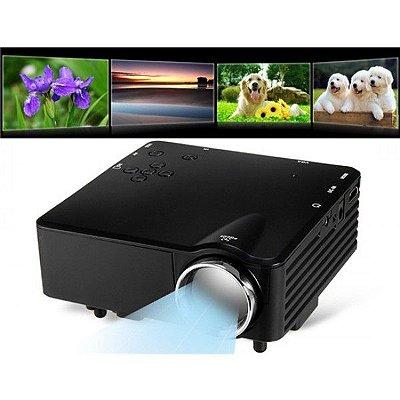 Mini Projetor HD TS-29 LED Até 80 Polegadas