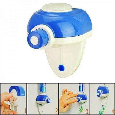 Dispenser Automático para Creme Dental Azul