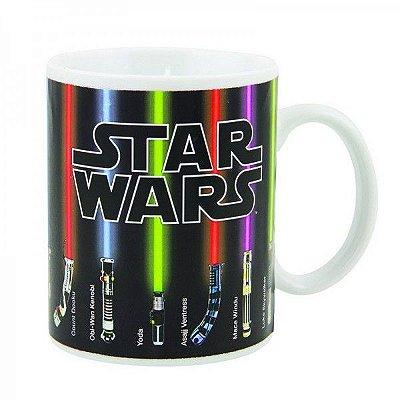 Caneca Mágica Sabres de Luz Star Wars