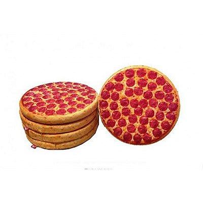 Almofada Criativa de Pizza 35x35cm