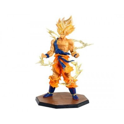 Boneco Goku Super Sayajin 20cm