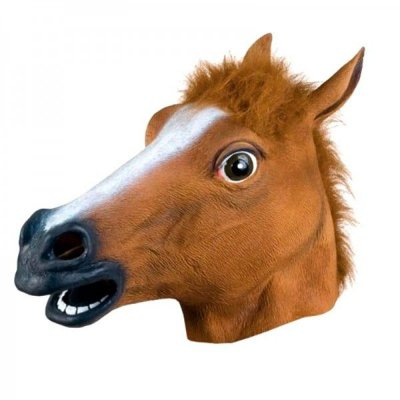Máscara de Cavalo Látex