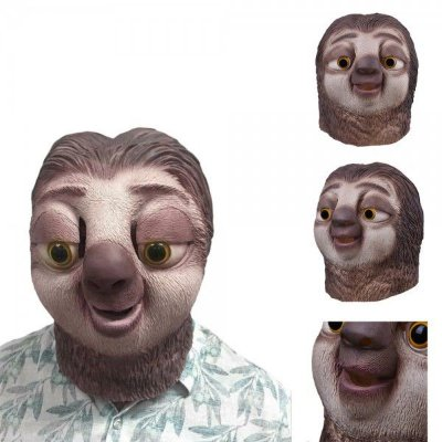 Máscara Bicho Preguiça Disney Látex