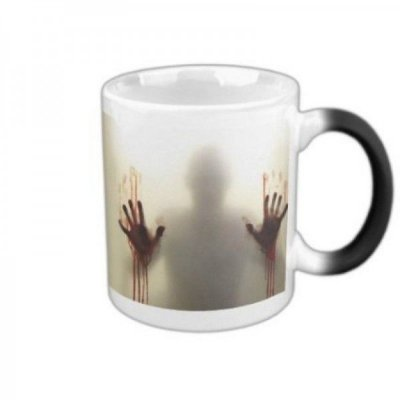 Caneca Mágica Muda de Cor The Walking Dead