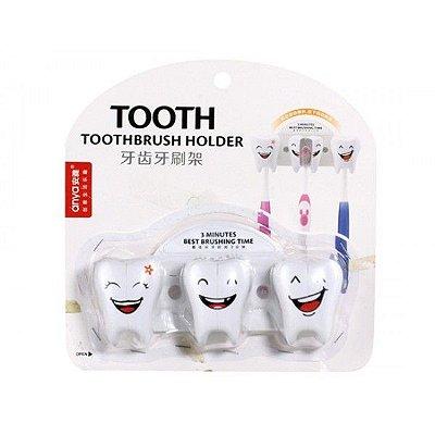 Suporte Escova De Dente Higiene Plus