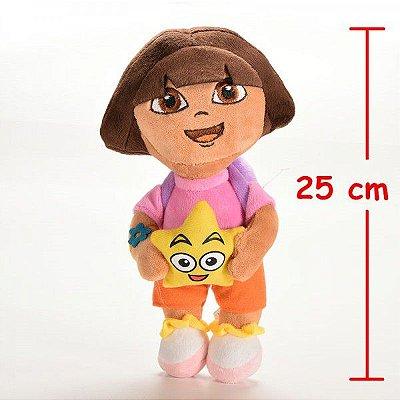 Pelúcia Personagem Dora Aventureira 25cm