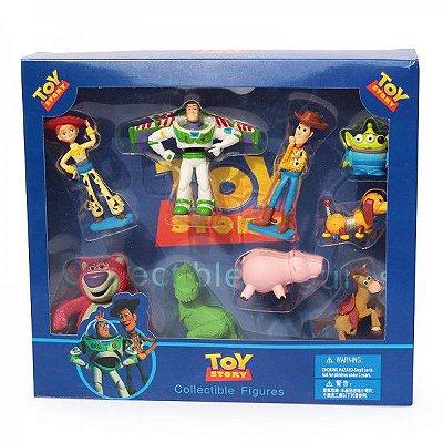 Conjunto com Bonecos Toy Story 9 Personagens