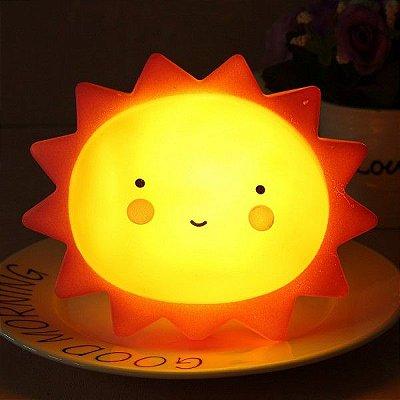 Luminária Decorativa Infantil - Sol
