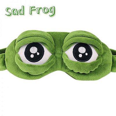 Óculos 3D Confortável Para Dormir Frog Green