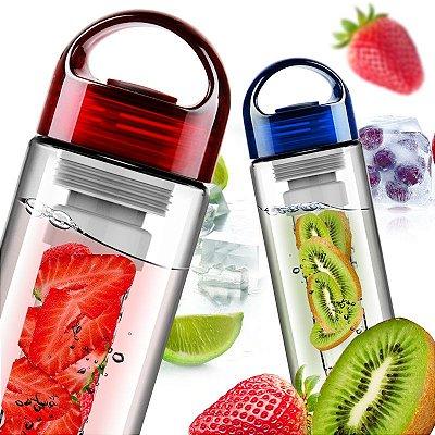 Garrafa 700ml Fruit Insire com Filtro