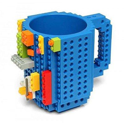 Caneca Criativa Geek Lego Montagem