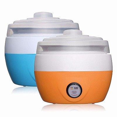 Mini Iogurteira 1 Litro - Aço Inox 220 voltz