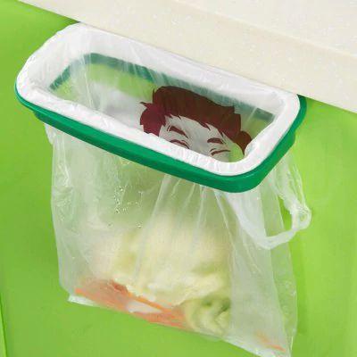 Sacola portátil de armazenamento de lixo