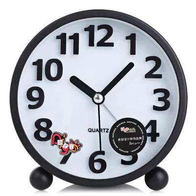 Relógio despertador circular