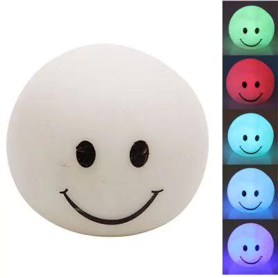 Luz Smiley 7 Cores LED pequeno